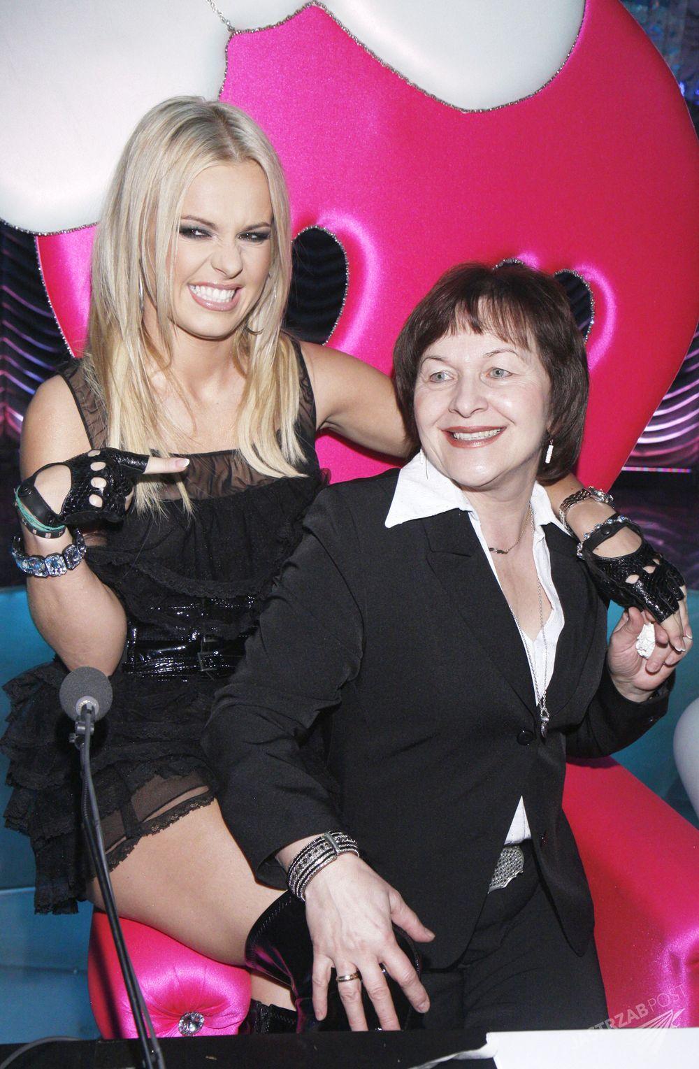 Doda z mamą, Wandą Rabczewską, fot. ONS