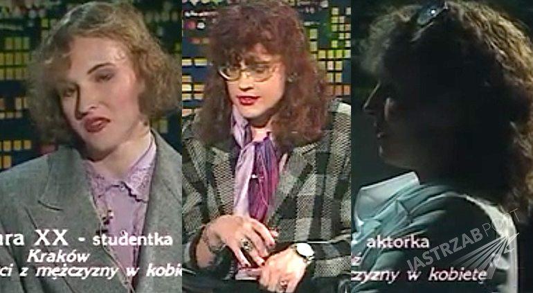 Polskie transseksualistki, mężczyźni po zmianie płci w Na każdy temat w 1993 roku. Odcinek 14 online na youtube Byłam mężczyzną