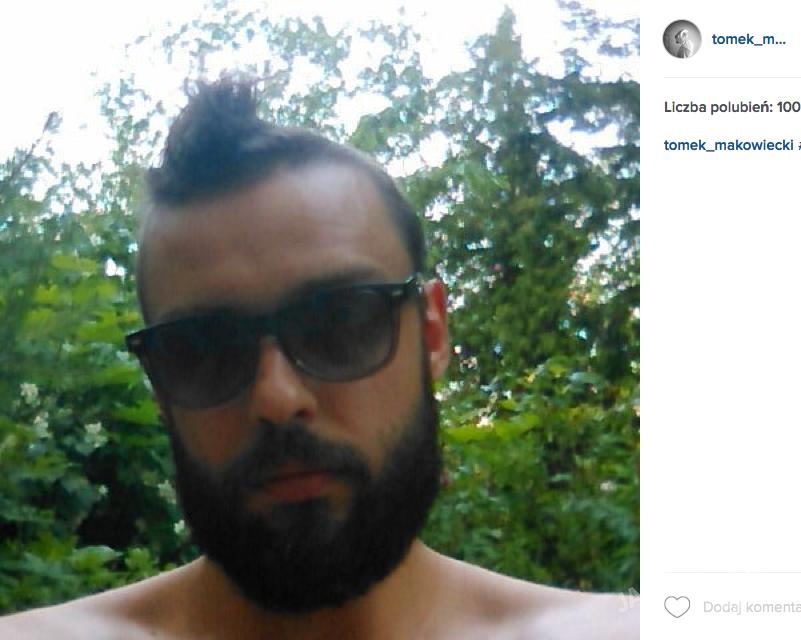 Tomek Makowiecki na Instagramie pokazał nową fryzurę