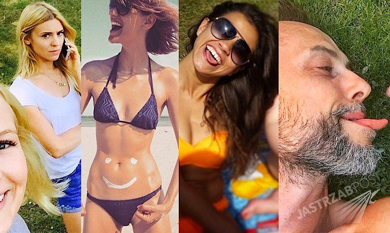 Polskie gwiazdy na Instagramie zdjęcia z 4 lipca 2015