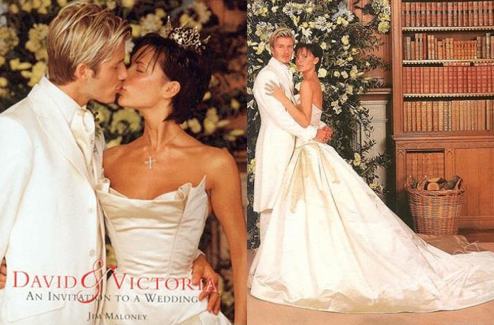 Ślub Davida i Victorii Beckham