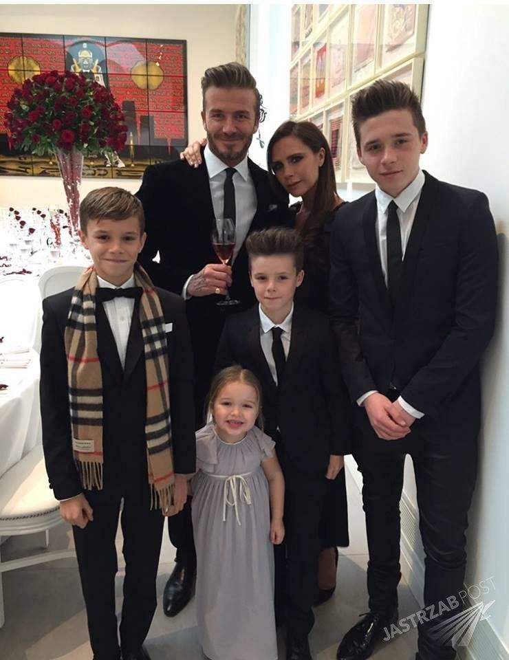 David i Victoria Beckham świętują 16 rocznicę ślubu