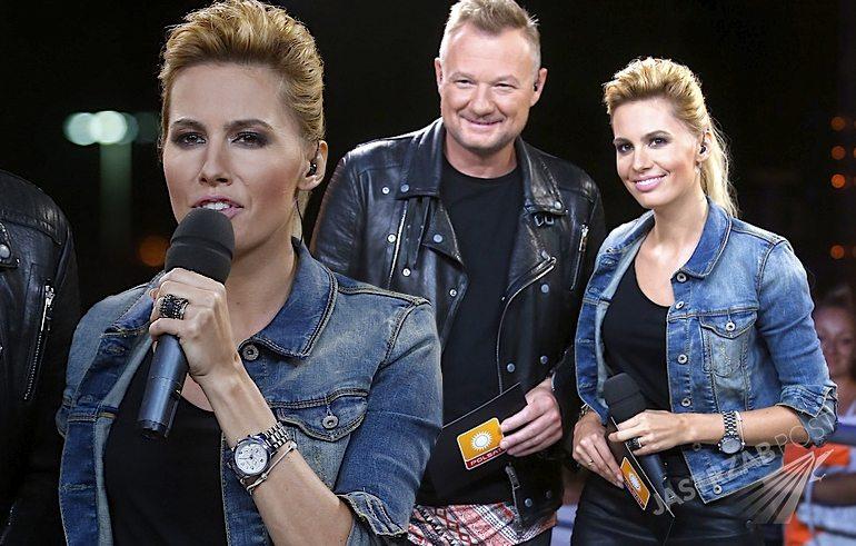 Agnieszka Popielewicz pierwszy raz po ślubie poprowadziła koncert Legendy Rocka