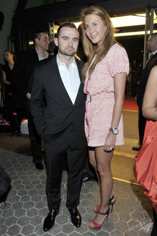 Sebastian Kulczyk i Katarzyna Jordan