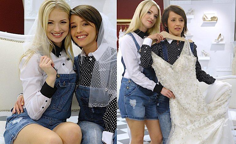 Barbara Kurdej-Szatan wybiera suknię ślubną w programie TLC Salon sukien ślubnych