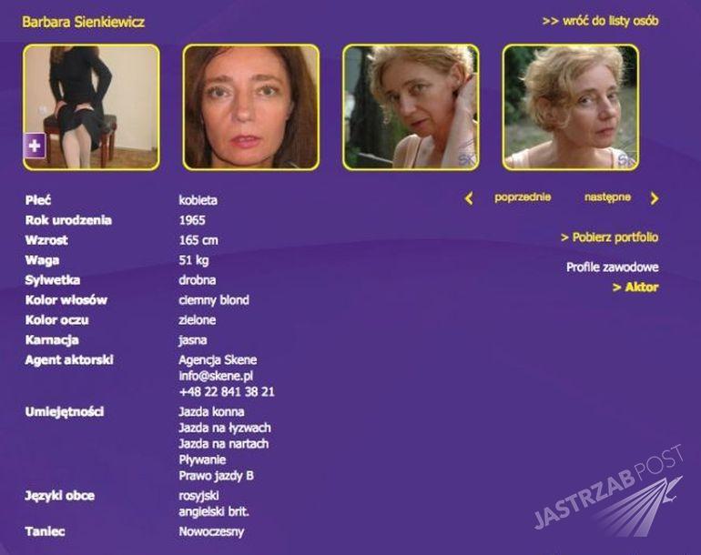 Wiek Barbary Sienkiewicz to 60 lat. Dlaczego aktorka odmładzała się?