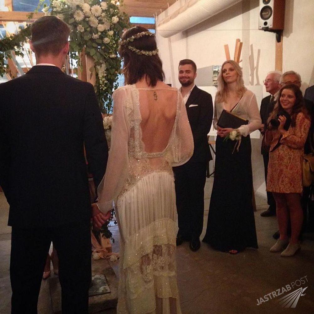 Suknia ślubna Marty Dyks