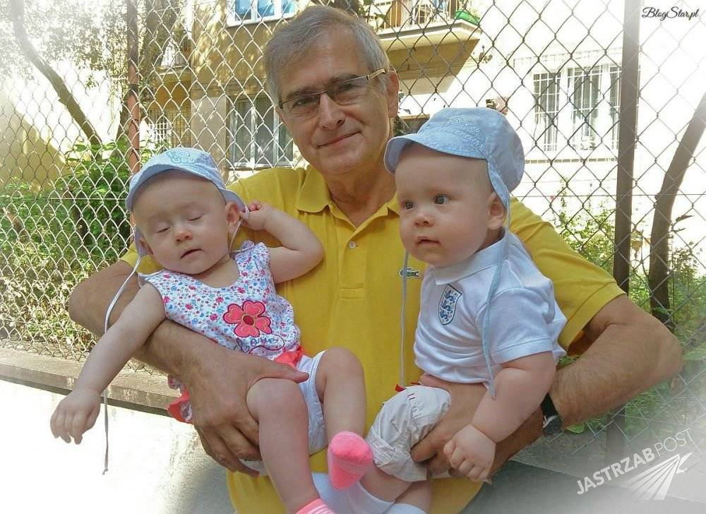 Dzieci Magdaleny Wołłejko. Zdjęcie bliźniąt