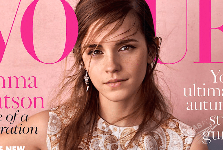 Ewa Watson w Vogue - wrzesień 2015. Cała sesja, okładka i wywiad