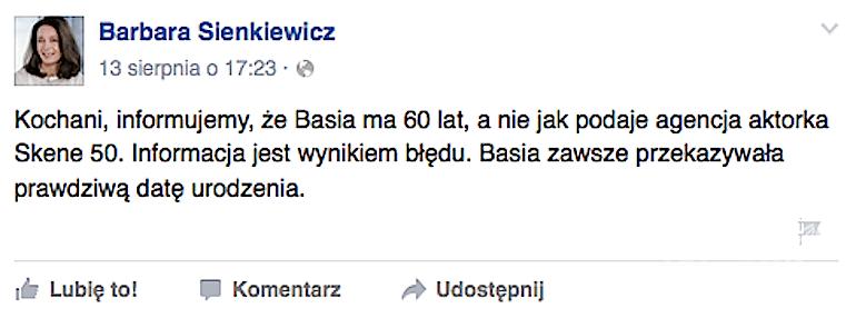Facebook Barbary Sienkiewicz