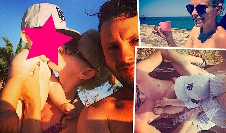 Alicja Janosz na wakacjach w Chorwacji z synem i mężem. Gdzie na wakacje z małym dzieckiem?