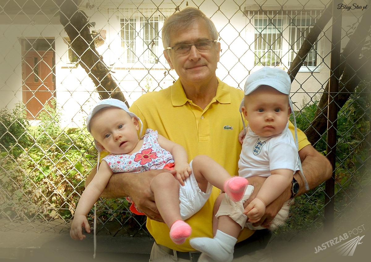 Olgier Łukaszewicz pokazał zdjęcia bliźniąt