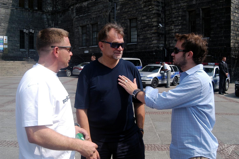 Leszek Kuzaj, Jan Kulczyk, Sebastian Kulczyk