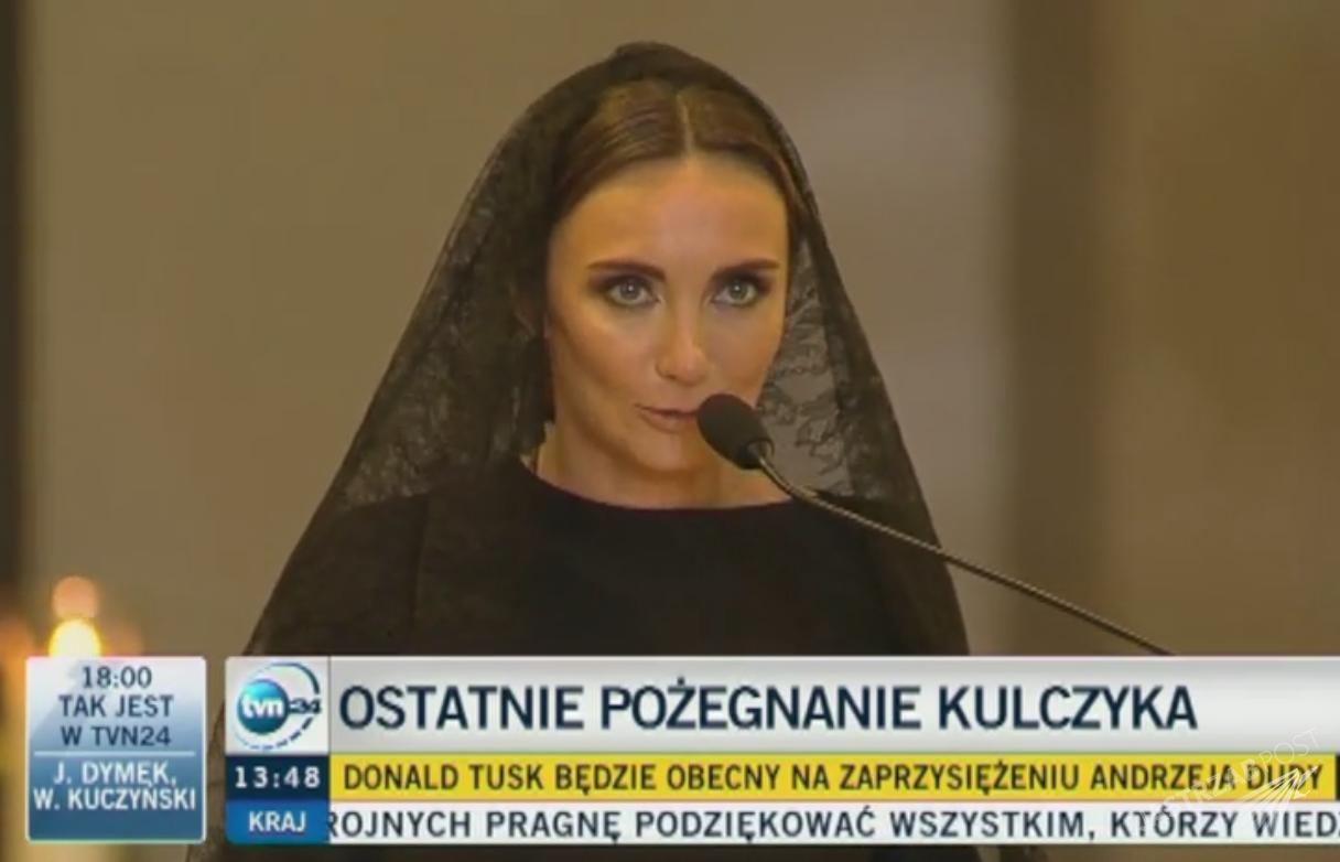 Przemówienie Dominiki Kulczyk na pogrzebie ojca Jana Kulczyka