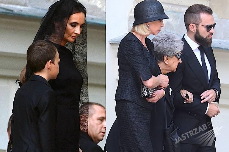 Rodzina na pogrzebie Jana Kulczyka Zdjęcia