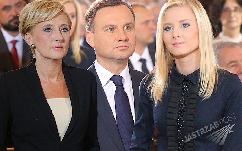 Zdjęcia z zaprzysiężenia Andrzeja Dudy. Kinga Duda i Agata Duda na zaprzysiężeniu