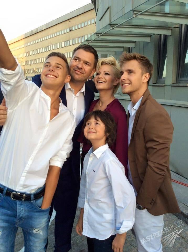 Małgorzata Kożuchowska, Tomasz Karolak, Mateusz Pawłowski, Maciej Musiał, Adam Zdrójkowski, fot: Facebook.com