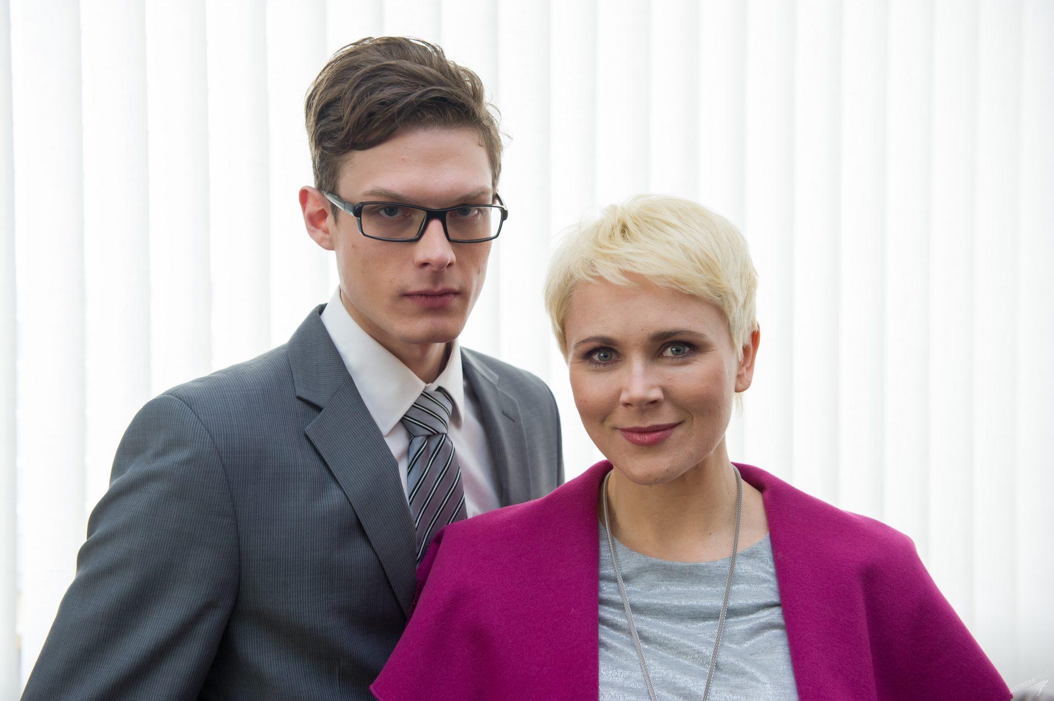 Na Wspólnej odcinek 2140, Ilona Zdybicka (Anna Samusionek), Maks Brzozowski (Adam Fidusiewicz) fot x-news.pl