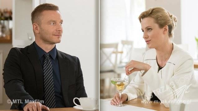 M jak miłość odcinek 1161, Andrzej (Krystian Wieczorek), Weronika (Katarzyna Hołtra)