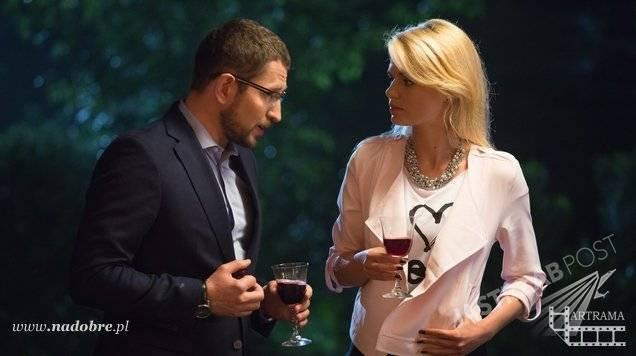 Na dobre i na złe odc 606, Agata (Emilia Komarnicka), Marek (Marcin Markowski)