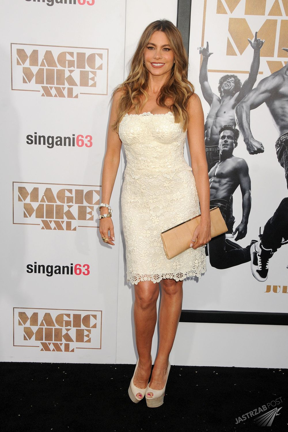 "25 June 2015 - Hollywood, California - Sofia Vergara. ""Magic Mike XXL"" Los Angeles Premiere held at the TCL Chinese Theatre. CAP/ADM/BP ÃByron Purvis/AdMedia/Capital Pictures"
