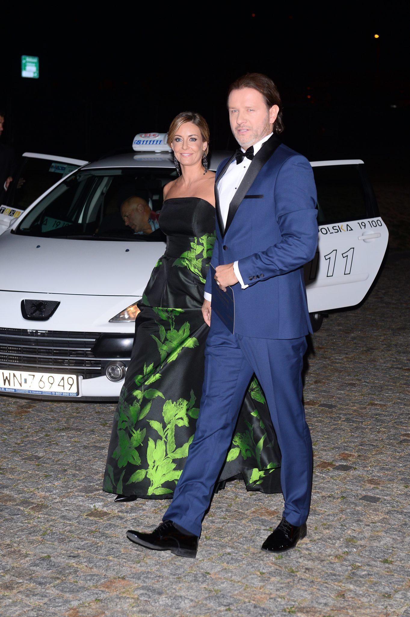 Radosław Majdan i Małgorzata Rozenek na balu fundacji TVN 2015
