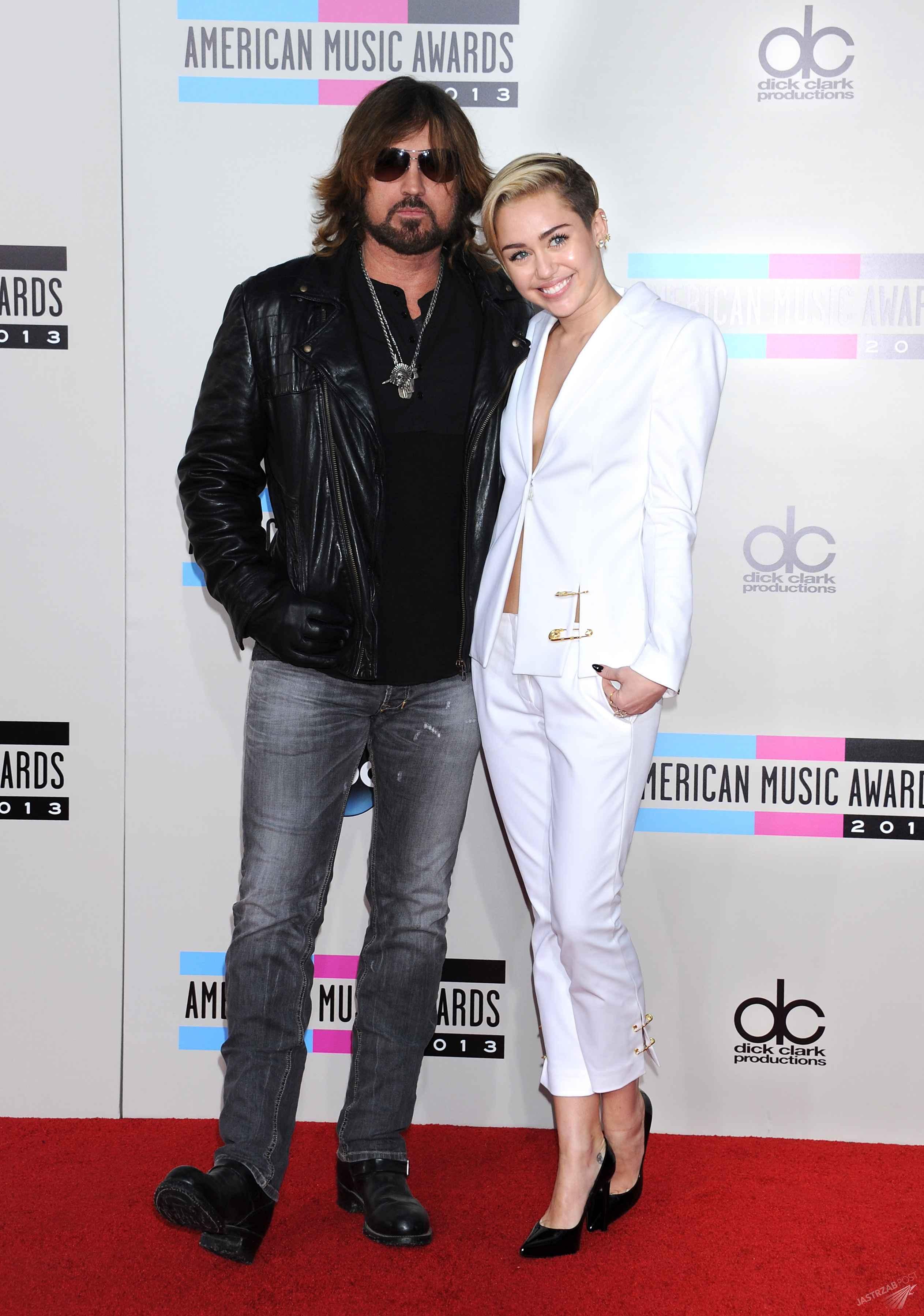 Billy Ray Cyrus i Miley Cyrus - ojciec i córka
