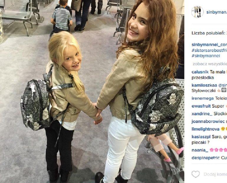 Córki Sary Boruc, screen z Instagrama