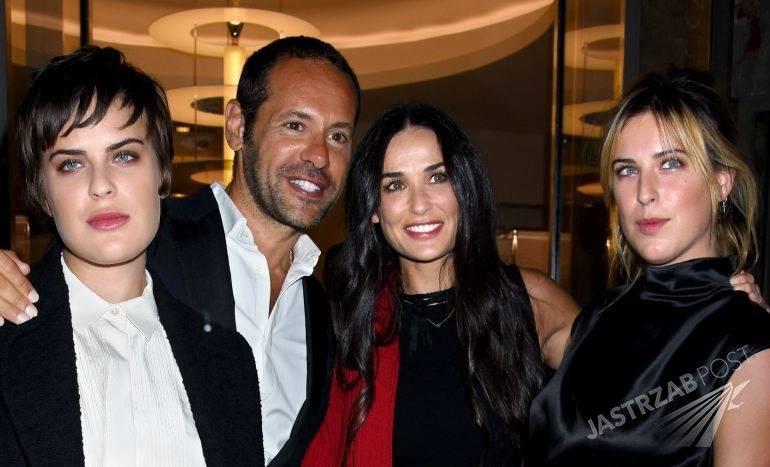 Demi Moore z córkami