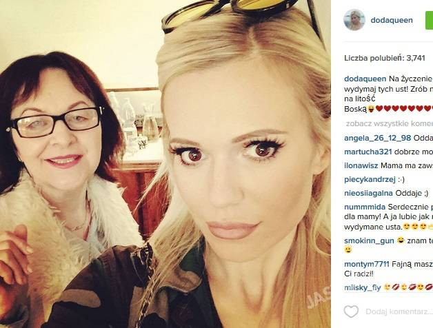 Doda i Wanda Rabczewska, fot. Instagram