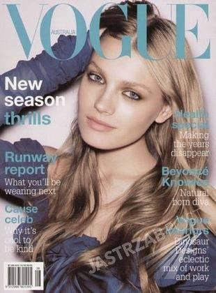 Anna Jagodzińska na okładce Vogue'a