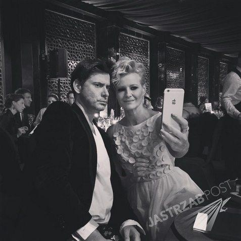 Marcin Tyszka i Małgorzata Kożuchowska na balu TVN 2015