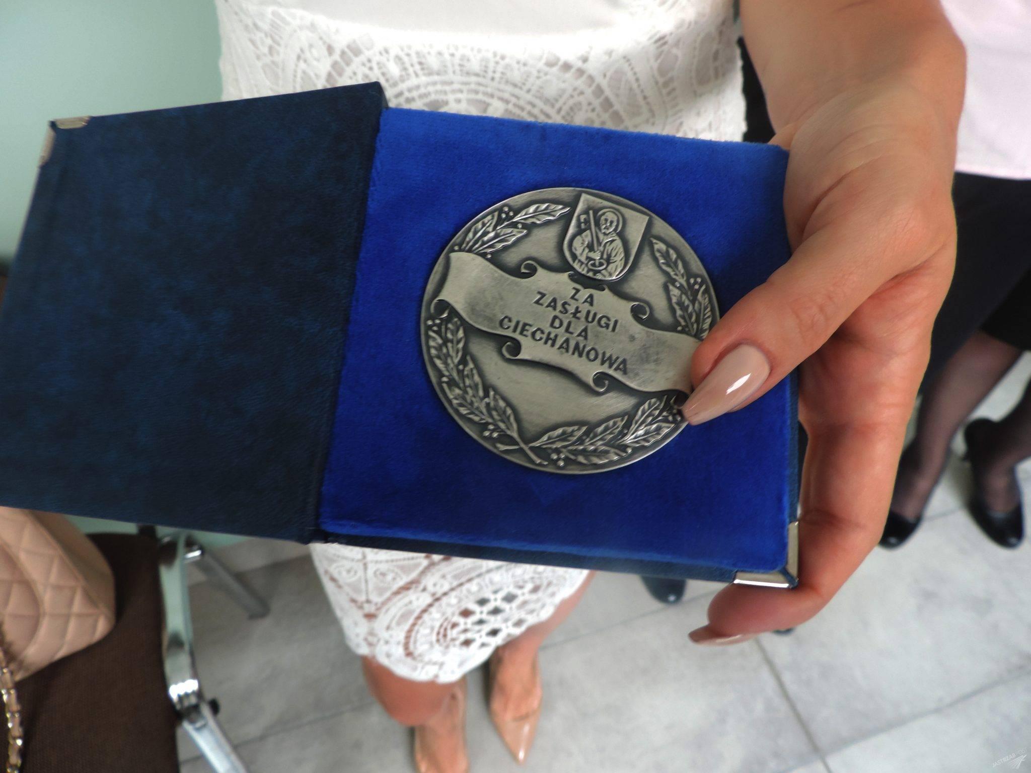 Medal Dody za zasługi dla Ciechanowa