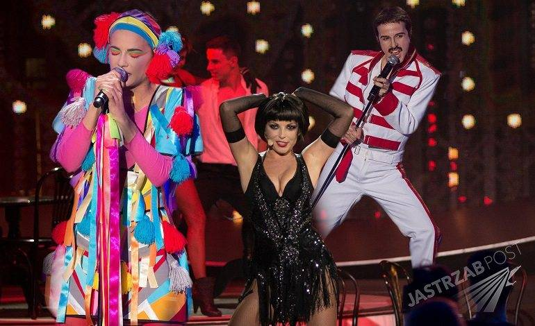 Freddie Mercury, metamorfozy w TTBZ 4, Monika Dryl, Monika Dryl jako Freddie Mercury, Twoja Twarz Brzmi Znajomo, Twoja twarz brzmi znajomo 4, Twoja twarz brzmi znajomo 4 odcinek 2 metamorfozy