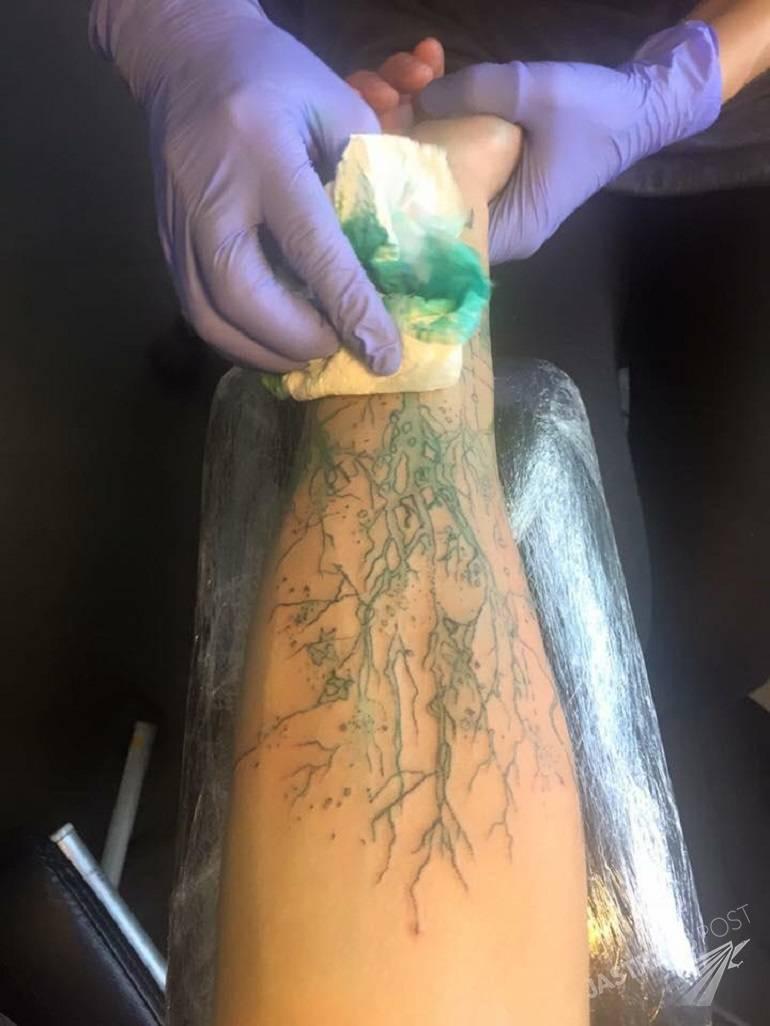 Tatuaż Dawida Kwiatkowskiego