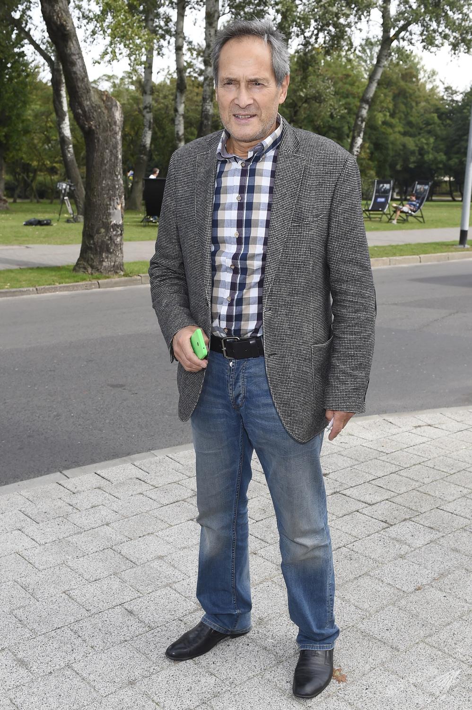 Jerzy Zelnik na 40. Festiwalu Filmowym w Gdyni (Fot. AKPA)