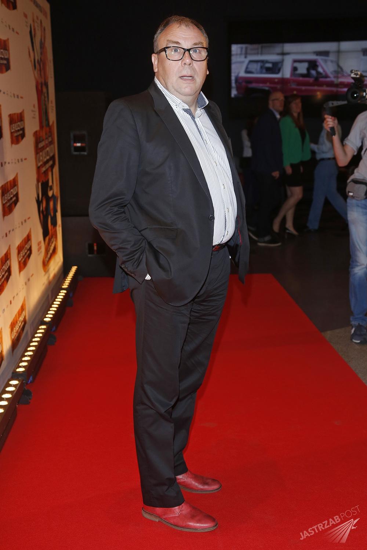 Bogdan Kalus na premierze