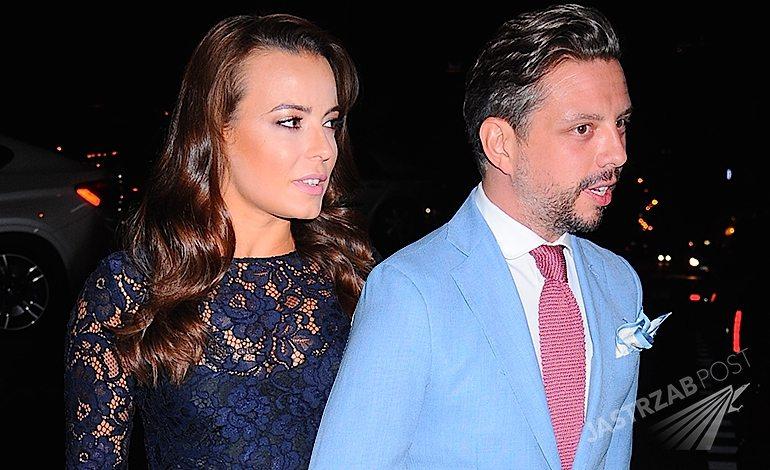 Anna Mucha i Marcel Sora na otwarciu włoskiej restauracji San Lorenzo w Warszawie