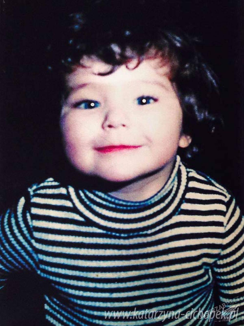 Katarzyna Cichopek w dzieciństwie