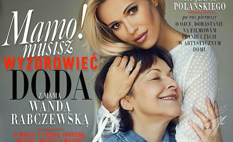 Doda i Wanda Rabczewska na okładce Vivy - wrzesień 2015