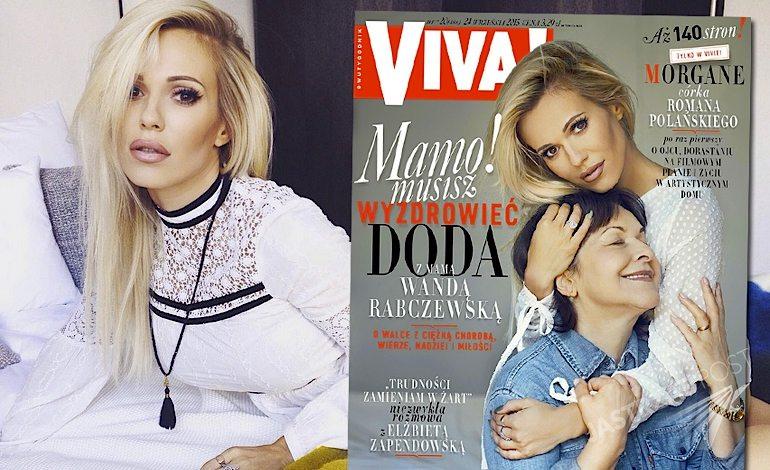 Doda i Wanda Rabczewska w Vivie! Cały wywiad i sesja