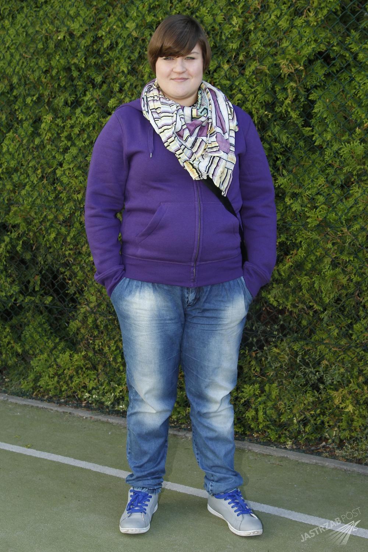Dominika Gwit przed dietą
