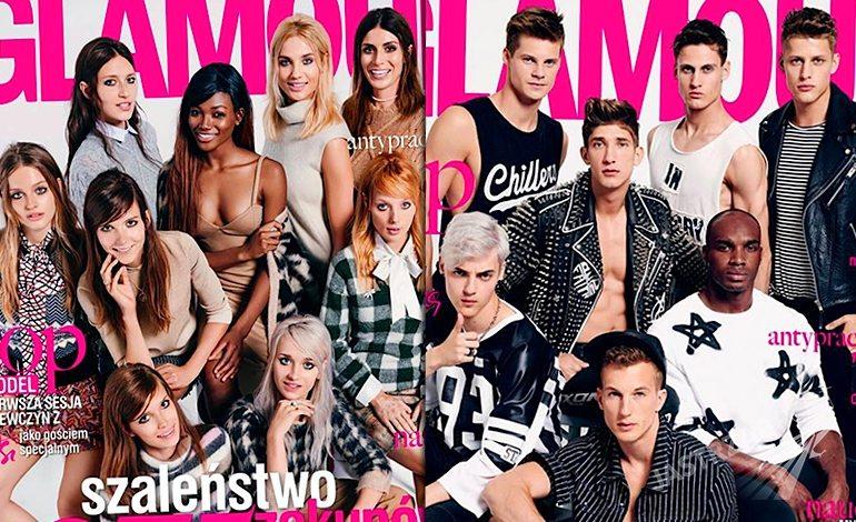 Finaliści Top Model 5 na okładkach Glamour