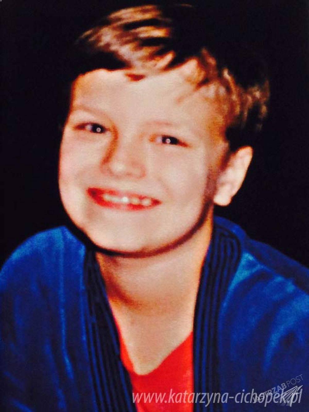 Marcin Hakiel w dzieciństwie