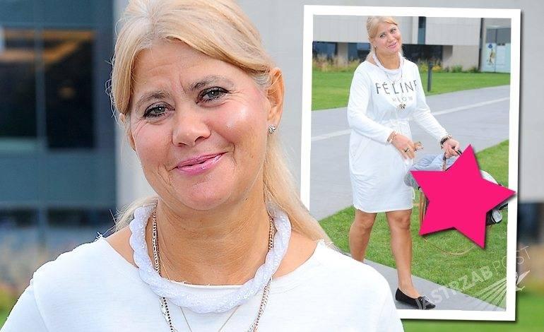 Izabela Kisio-Skorupa z podróbką Louis Vuitton. Matka Oli Kisio na 40. Festiwalu Filmowym w Gdyni