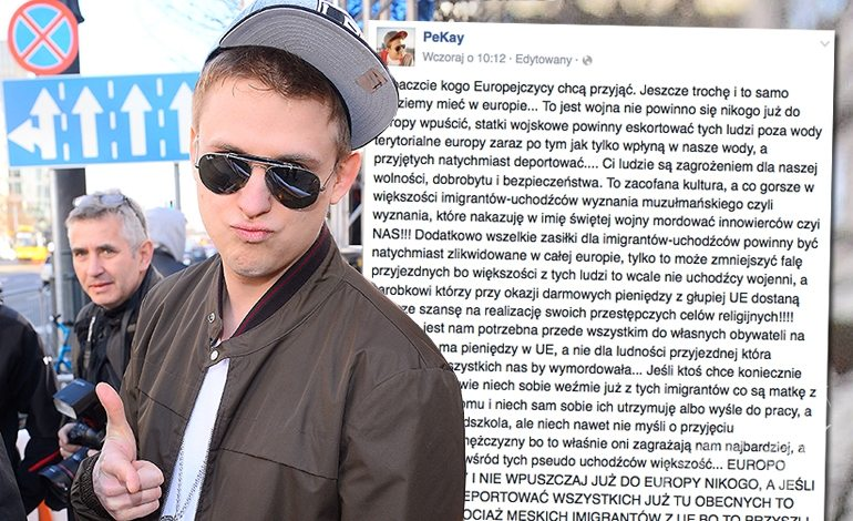 Pikej Piotr Kukulski o uchodźcach