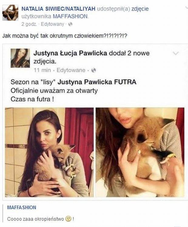 Post Natalii Siwiec