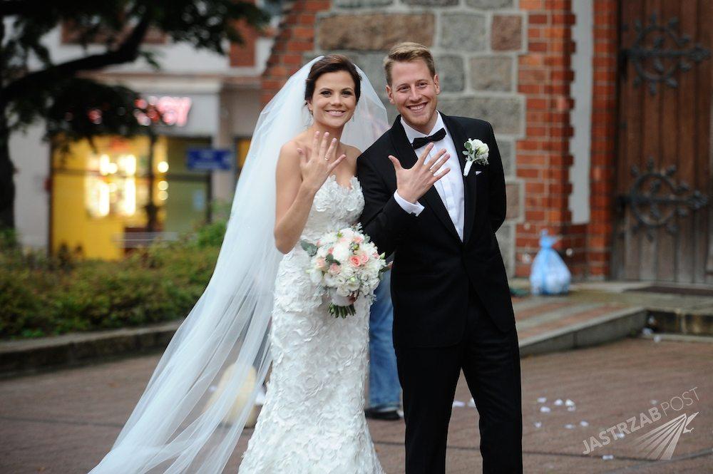 Ślub Roberta Stockingera i Patrycji Drozd odbył się w Sopocie