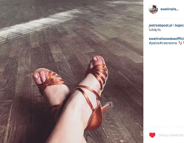 Zmasakrowane stopy Eweliny Lisowskiej na treningu do Tańca z gwiazdami