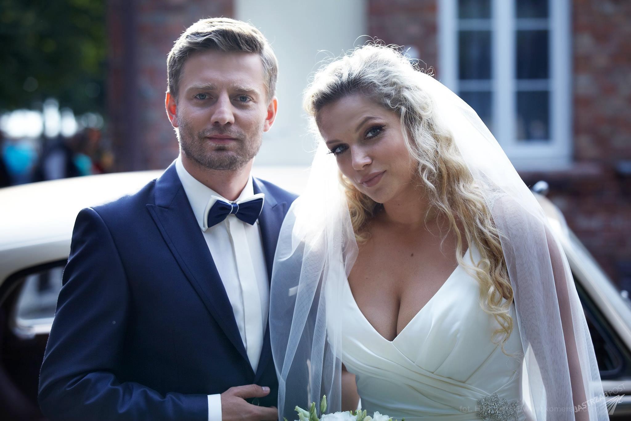 Przyjaciółki, Patrycja (Joanna Liszowska), Michał (Marcin Rogacewicz), fot: Facebook/przyjaciolki